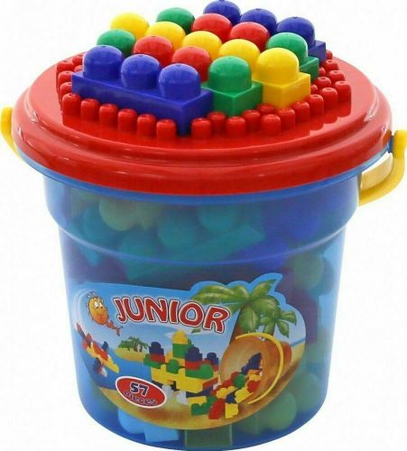 Set-Jumbo Construction Toy Set-57 Pieces, Multi Colour
